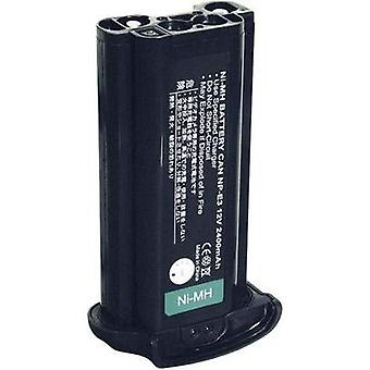 Camera battery Conrad energy replaces original battery NP-E3 12 V