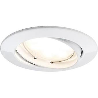 LED flush mount light 3-piece set 21 W Warm white Paulmann Coin 92831 White
