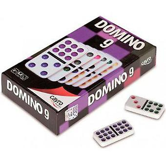 Cayro Dominoes Double 9 Color (Spielzeuge , Brettspiele , Strategie)