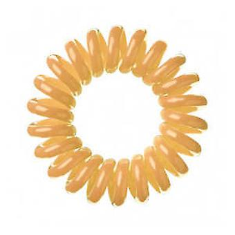 Bifull Invisible Coletero Dorado (Woman , Hair Care , Hair Accessories , Scrunchy)