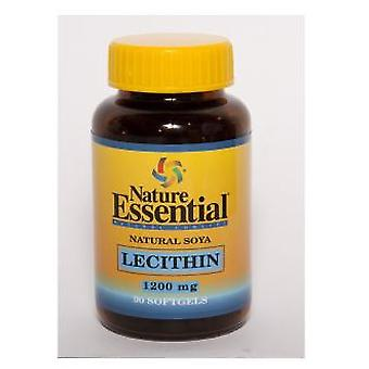 Nature Essential lecithin from soy 1200 Mg. 90 pearls