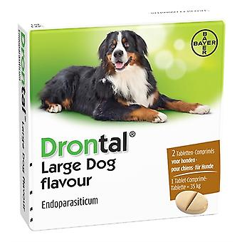 Bayer Drontal entwurmen Hund L 2 Tabletten