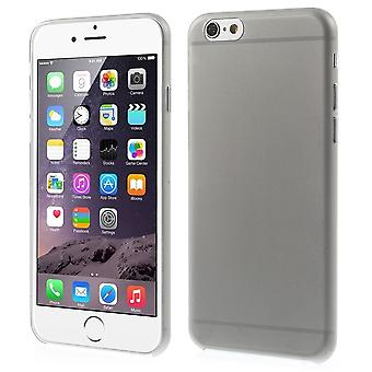 Mate de couvercle en plastique ultra fine 0,3 PC à l'iPhone 6 (gris)