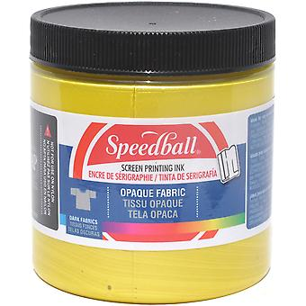 Opaque Fabric Screen Printing Ink 8 Ounces-Citrine OFSPI8-4805