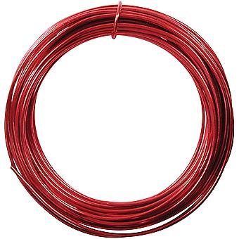 Aluminum Wire 12 Gauge 39' Coil-Red DA26-10-R