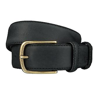 Lee belts men's belts leather belt black 3971