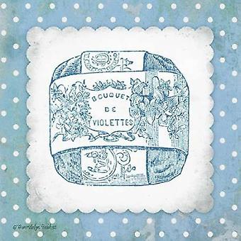 French Soap Blue II Poster Print by Gwendolyn Babbitt