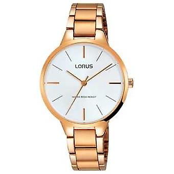 Lorus Womans Rose Gold Plated RRS96VX9 Watch