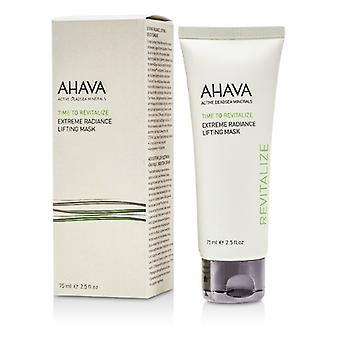 Ahava Time att vitalisera Extreme Radiance Lyft Mask 75ml / 2.5oz