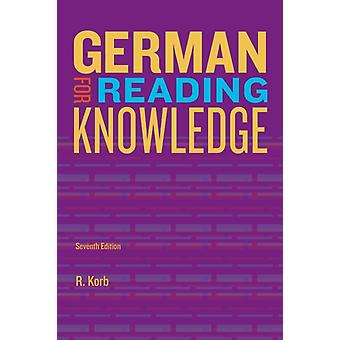 German for Reading Knowledge (Paperback) by Korb Richard (Columbia University)