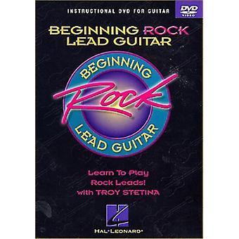 Begynder Rock føre Guitar [DVD] USA import