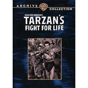 Tarzan's Fight for Life [DVD] USA import