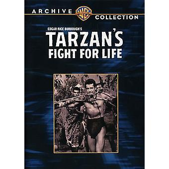 Lucha de Tarzan para la vida [DVD] USA importar
