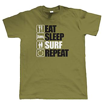 Vectorbomb, Eat Sleep Surf Repeat T Shirt  (S to 5XL)