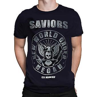 Official Amc   Negan New World Order  Tshirt