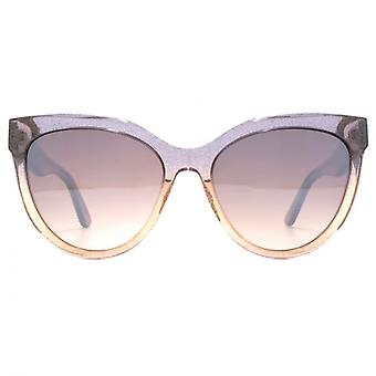 Karl Lagerfeld Cateye Sunglasses In Rose Gradient
