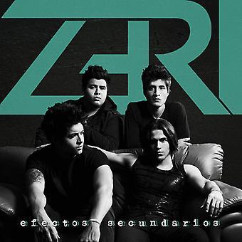 Zeri - Efectos Secundarios [CD] USA importerer