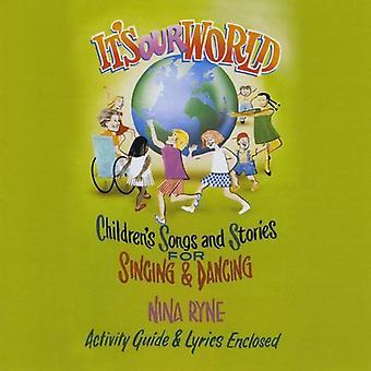Ryne Nina - c'est notre monde [CD] USA import