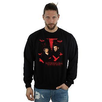 Supernatural Men's Crow Eyes Sweatshirt