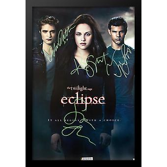 The Twilight Saga: Eclipse - Signed Movie Poster