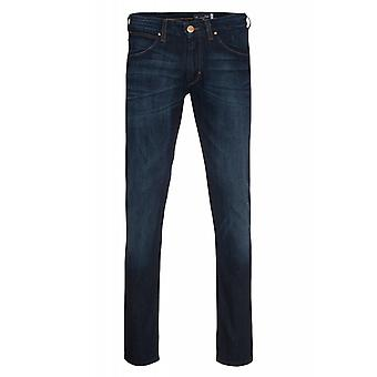 Wrangler Lars tone trousers mens jeans blue stretch effect slim