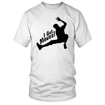 Ik kreeg beweegt Breakdance Hip Hop Mens T Shirt