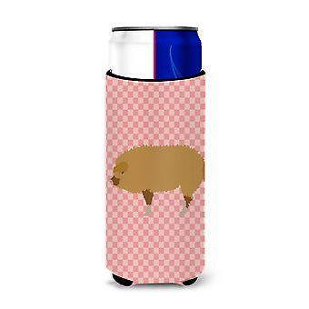 Húngaro Mangalica cerdo rosa Compruebe Michelob Ultra reductor para latas de slim