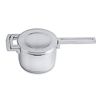 BergHOFF stainless steel pan with lid 16 cm