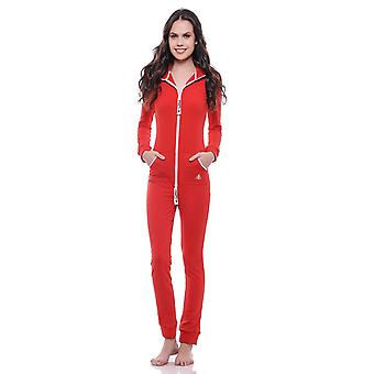 Streetfly fitted red summer jumpsuit