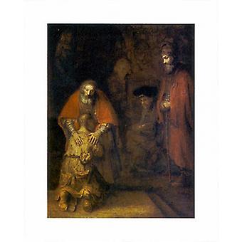 Return of the Prodigal Son Poster Print by Rembrandt van Rijn (16 x 20)