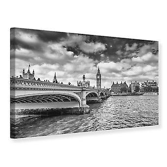 Lona impresión Westminster Bridge