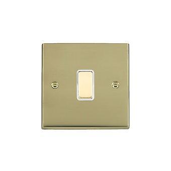 Hamilton Litestat Cheriton Victorian Polished Brass 1g 250W M-Way Touch Mast PB/WH