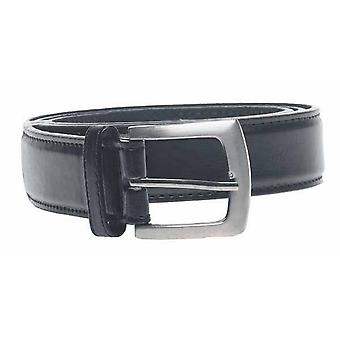 Duke Mens D555 Lewis Square Buckle Plain Belt