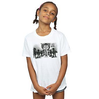 Disney Girls Toy Story Evil Dr Pork Chop T-Shirt