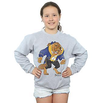 Disney Girls Beauty and the Beast Classic Beast Sweatshirt