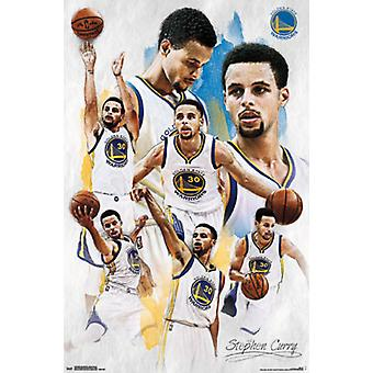 Golden State Warriors - Stephen Curry 15 Poster afdrukken