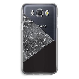 Samsung Galaxy J5 (2016) Transparent Case - Marble combination