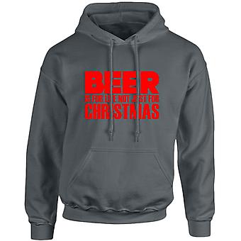 Beer Is Not Just For Christmas Xmas Unisex Hoodie 10 Colours (S-5XL) by swagwear