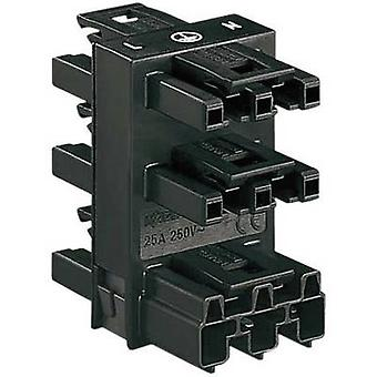 Mains distributor Mains plug-Mains socket, Mains socket, Mains socket, Mains socket, Mains socket Total nu