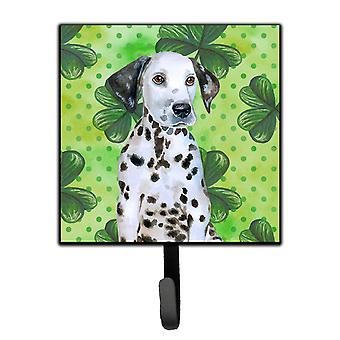 Carolines Treasures  BB9882SH4 Dalmatian Puppy St Patrick's Leash or Key Holder