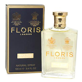 Floris White Rose Eau De Toilette  100ml/3.4Oz New In Box