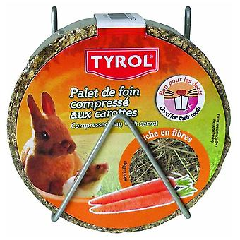 Tyrol Compacted Hay Wheel Maize (Small pets , Treats)