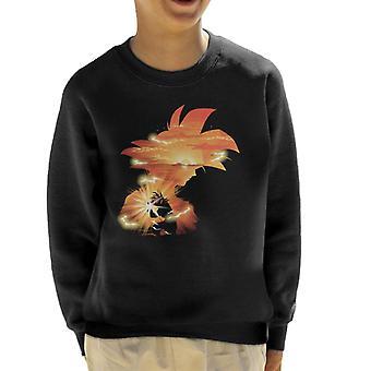 Dragon Ball Z Goku Sunset Kid's Sweatshirt