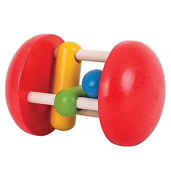 Bigjigs Toys Wooden Rainbow Roller Sensory Baby Educational Newborn