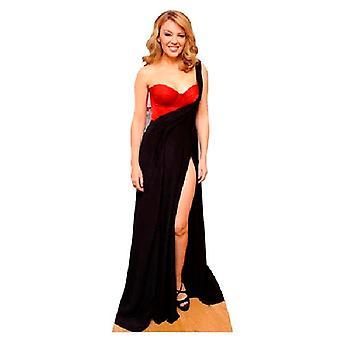Kylie Minogue Lifesize pap påklædningsdukke