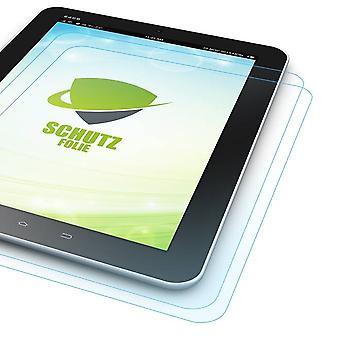 2 x screen protector for Samsung Galaxy tab A-10.1 T580 T585 + polishing cloth