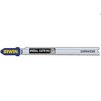 Irwin 10504230 Jigsaw Blades Metal Cutting Pack Of 5 T318A