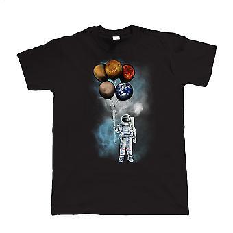 Spaceman tur, Herre T-shirt | Gæst kunstner JG
