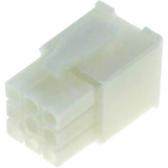 TE Connectivity Pin enclosure - cable Universal-MATE-N-LOK Total number of pins 12 172341-1 1 pc(s)