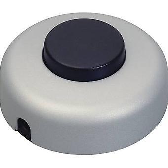 InterBär 5062-020.01 Fußschalter Titan, schwarz 1 X Off/On 2 1 PC